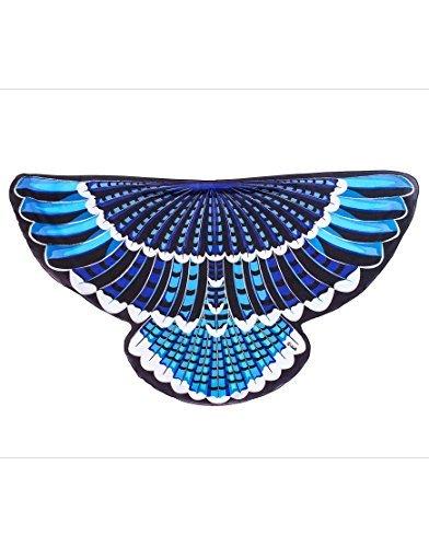 Wings, Bird, Blue Jay (Cyanocitta cristata) by Dreamy Dress-Ups (Blue Dress Ups)