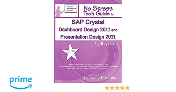 Amazon com: SAP Crystal Dashboard Design 2011 And