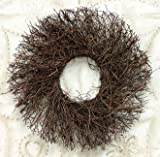 Natural Angelvine Twig Wreath Country Primitive Craft Floral Décor