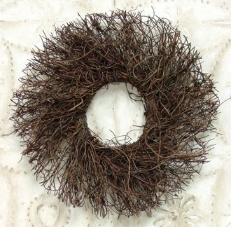 Primitive Twig - Natural Angelvine Twig Wreath Country Primitive Craft Floral Décor