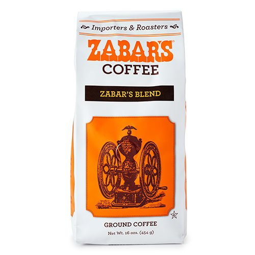 Zabar's Determined Blend Coffee Beans 16oz (Kosher) Light Roast by Zabar's