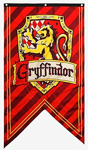 New Harry Potter House Crest Wall Banner (Gryffindor)