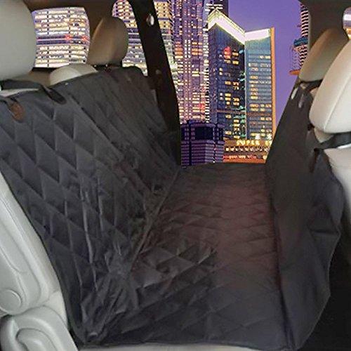 Amazon Com Dog Seat Cover Plus Pet Seat Belt For Cars Vans Suvs