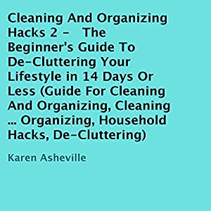 Cleaning and Organizing Hacks 2 Audiobook