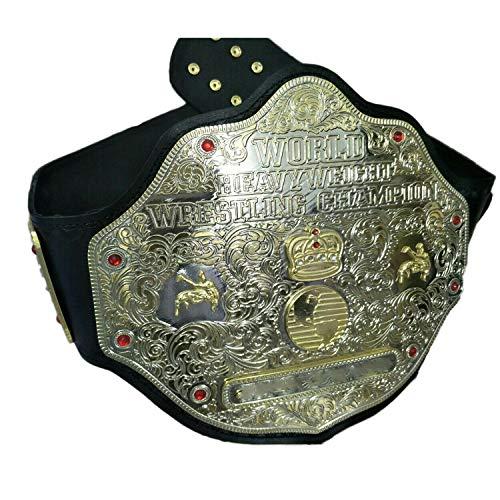 Vitalusa WWE World Heavyweight Wrestling Championship Belt Adult Size Replica Title Belts WWE Belt