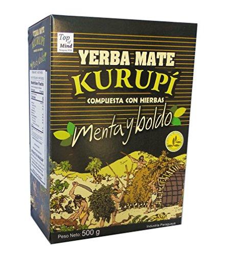 Kurupi Mint Boldo Yerba Mate 500 g (1.1 lbs)
