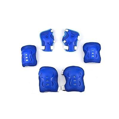 1lot (6PCS) 3en 1enfants genou Coude poignet de sécurité de protection Coussinets Ensemble–Sports de plein air Coude poignet de sécurité de coussinets protecteur