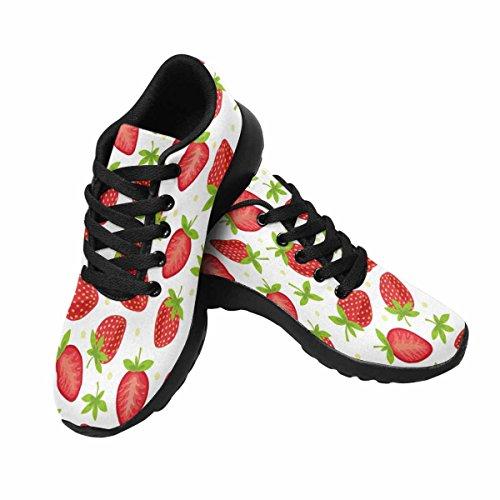 Scarpe Da Corsa Trail Running Da Donna Jogging Leggero Sportivo Da Passeggio Sneaker Da Ginnastica Fragola Multi 1