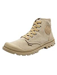 Unisex Outdoor Mountaineering Shoes Military Tactical Canvas Boots for Men