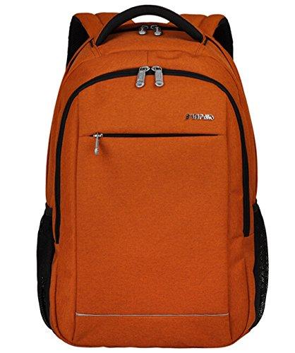 Travel Outdoor Computer Backpack Laptop bag (Orange) - 8