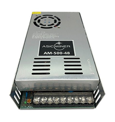 ASICMINER AC110V/220V to DC 48V Universal Regulated Switching Power Supply 500W