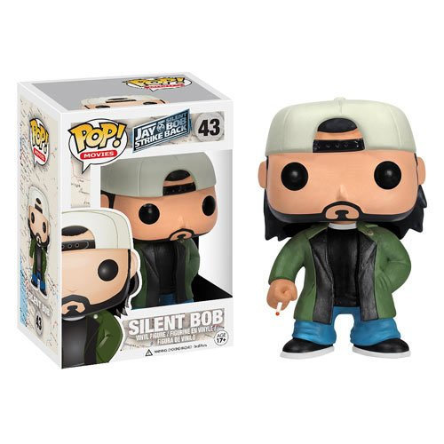 Funko POP Movies Silent Bob Vinyl Figure]()