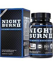 Night Burn 2 voor de nacht, Night Burn® - het beschermde originele merkproduct met de succesvolle formule uit de VS, Made in Germany volgens ISO en HACCP, 60 plantaardige capsules