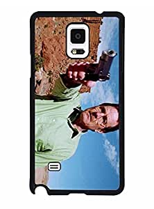 Galaxy Note 4 Funda Case Breaking Bad, Movie, Cool Pattern Brand New Durable Scratch-Proof Rugged Anti Slip Compatible With Samsung Galaxy Note 4