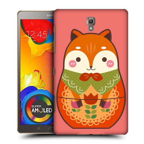 Head Case Designs Fox Animal Nesting Doll Protective Snap-on Hard Back Case Cover for Samsung Galaxy Tab S 8.4 LTE T705 WIFI T700