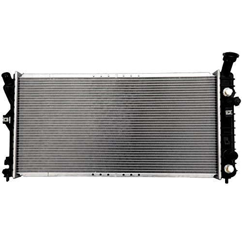 Scitoo 2343 Radiator fits for 2000-2005 Buick Century Custom/Limited/Special Edition Sedan 4-Door 3.1L Chevrolet Monte Carlo LS/SS Coupe 2-Door 3.4L 3.8L (Buick Radiator Century Car Auto)