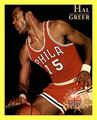 1996 Topps Stars #119 Hal Greer PHILADELPHIA 76ers MARSHALL