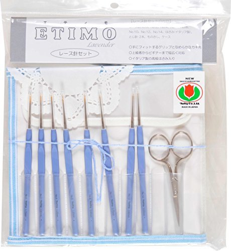 ETIMO tulip pattern with lace needle set Royal Silver TLS-001 (japan import) by Tulip