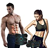 Abdominal Muscle Toner ABS Belt Workout Equipment Portable Fit Toning Belt Wireless Muscle Exercise for Home/Office Support Men&Women (3 Fitness Apparatus) For Sale