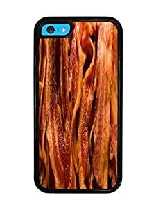 Bacon Bacon Black Silicone Case for iPhone 5C