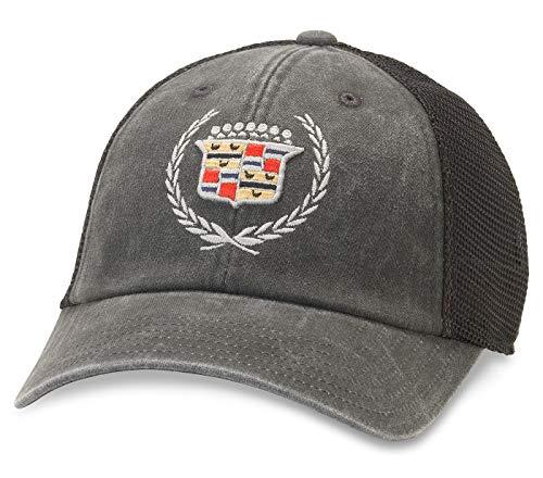 American Needle Raglan Bones Cadillac Trucker Hat (GM-1909B-BLK) ()