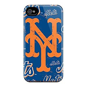 Fashion Protective New York Mets For SamSung Note 2 Case Cover