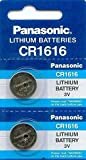panasonic battery cr 1616 3v - CR 1616 PANASONIC LITHIUM BATTERIES (2 piece) 3V Watch New
