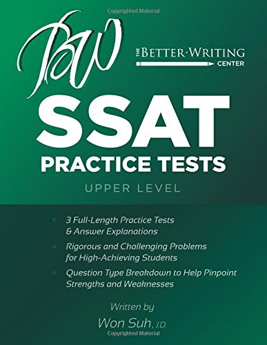 SSAT Practice Tests: Upper Level