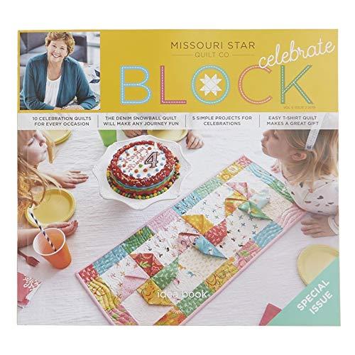 Big Star Block - Missouri Star Block Quilt Magazine~ 2019 Vol 6#2 Celebration Issue