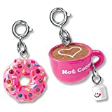CHARM IT! Hot Cocoa & Sprinkles Donut - 2 Charm Set