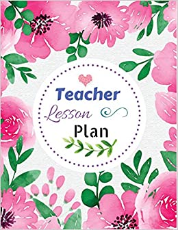 picture regarding Teacher Plan Books named : Instructor Lesson Method: Crimson Floral Go over : Lesson