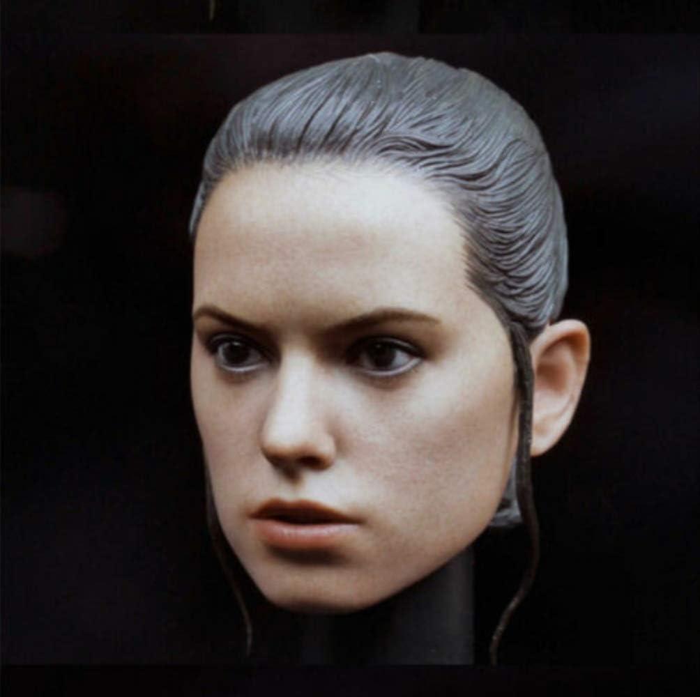 tytlmask T/ête De Femme Rey Sculpt Mod/èle T/ête De Femme Sculpture F 12  Figurine Poup/ée 1//6 Daisy Ridley