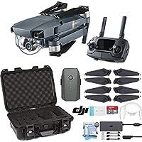 DJI Mavic Pro Drone with Custom Nanuk Waterproof Hard Case (Black)