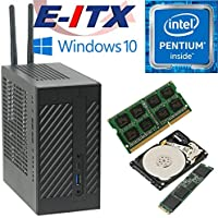 Asrock DeskMini 110 Intel Pentium G4600 (Kaby Lake) Mini-STX System , 4GB DDR4, 240GB NVMe M.2 SSD, 2TB HDD , WiFi, Bluetooth, Window 10 Pro Installed & Configured by E-ITX