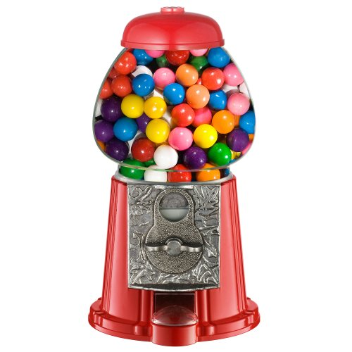(Great Northern Popcorn Company Old Fashioned Vintage Candy Gumball Machine Bank, 11-Inch)