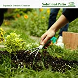 Homes Garden Bend-Proof Small Hand Cultivator