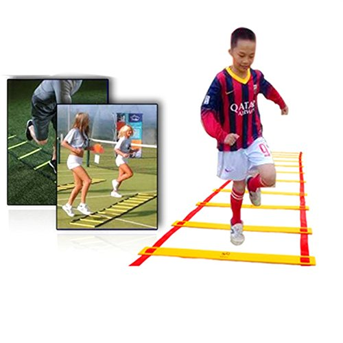 Alicenter(TM) 8-rung Agility Ladder for Soccer Speed Football Fitness Feet Training Durable