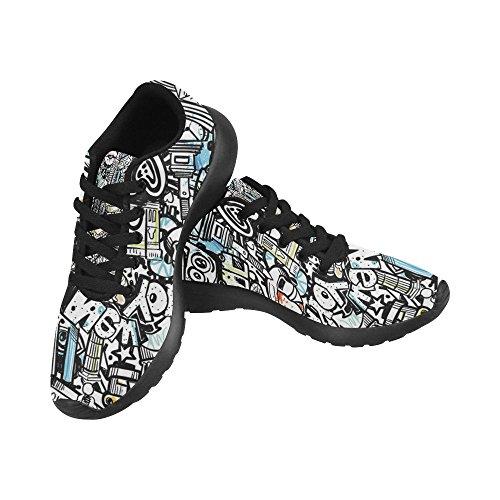 Interestprint Femmes Cross Trainer Chaussures De Course Jogging Sport Léger Marche Athlétisme Sneakers