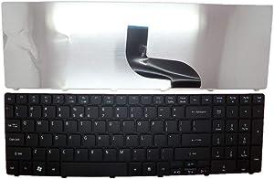 Laptop Keyboard for Acer Aspire 5740 5740D 5740DG 5740G 5745 5745DG 5745G 5745P 5745PG 5745Z 5750 5750G 5750Z 5750ZG 5739 5739G English US Black