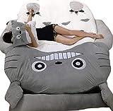 HOT SALE Children's and Adult Totoro Design Big Sofa Totoro Bed Mattress Sleeping Bag Mattress