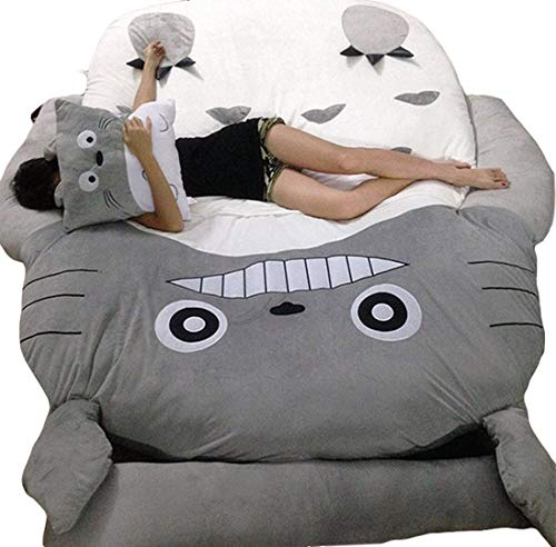 HOT SALE Children's and Adult Totoro Design Big Sofa Totoro Bed Mattress Sleeping Bag Mattress by VU ROUL (Image #8)