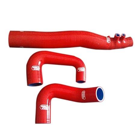 La ingesta tubos flexibles de silicona Turbo + Aire tubo colector para el Benz inteligente 450