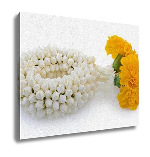 Ashley Canvas Malai The Flower In Thai Tradition Style Wall Art Decoration Picture Painting Photo Photograph Poster Artworks, 20x25 by Ashley Canvas