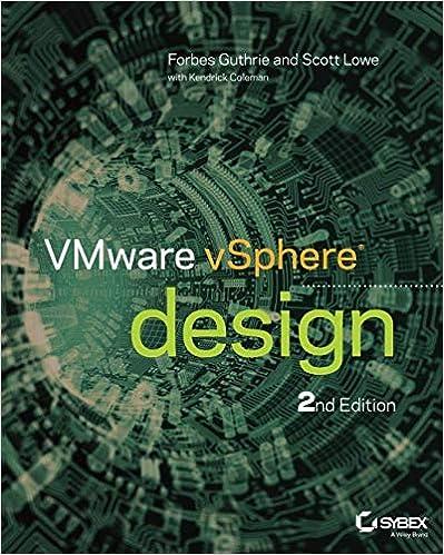 VMware vSphere Design, 2nd Edition: 9781118407912: Computer