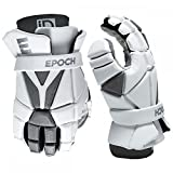 Epoch Lacrosse iD High Perfomance, Lightweight, Flexible, Lacrosse Glove for Attack, Middie and Defensemen (Medium)