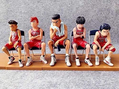 Amazon | スラムダンクハンドモデル人形ルカワ周辺メープル人形5個 ...
