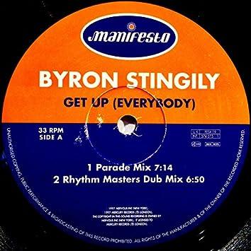 Byron Stingily Get Up Everybody Amazon Com Music
