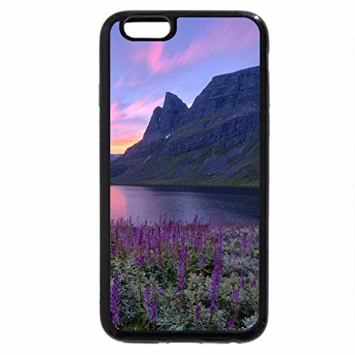 iPhone 6S / iPhone 6 Case (Black) sunset over forest in late fall
