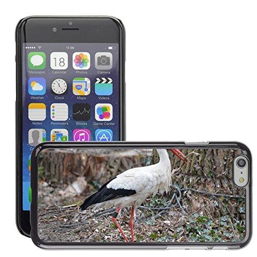 """Just Phone Cases Hard plastica indietro Case Custodie Cover pelle protettiva Per // M00129062 Cigogne Faune Oiseau // Apple iPhone 6 PLUS 5.5"""""""