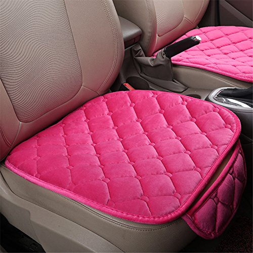 Silence Shopping Car Interior Seat Cover Cushion Pad Mat for Auto Supplies Office Chair(Pink)